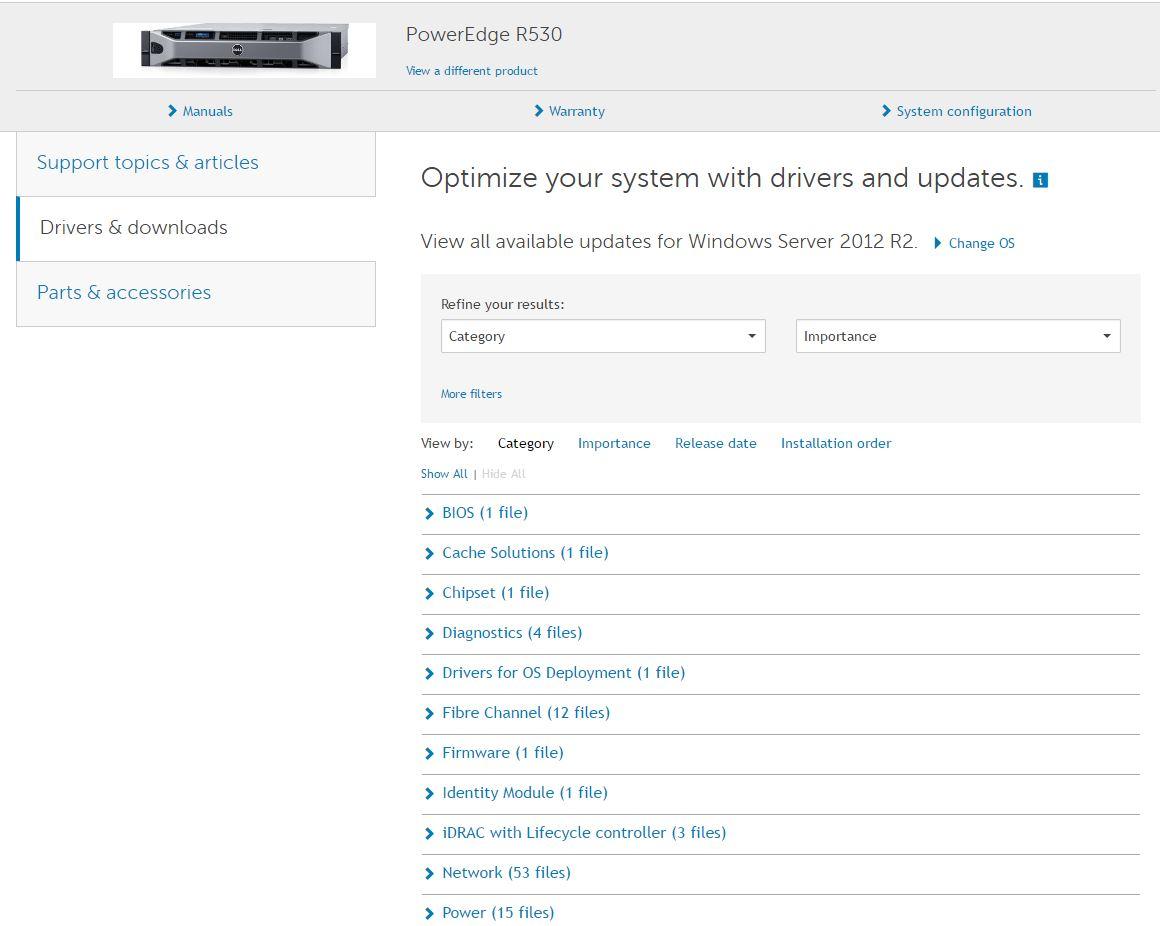 Dell Firmware Update – ufak tefek notlar
