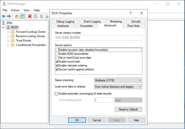 DNS Server Kurulumu ve Konfigürasyonu – Bölüm 2 – ufak tefek notlar